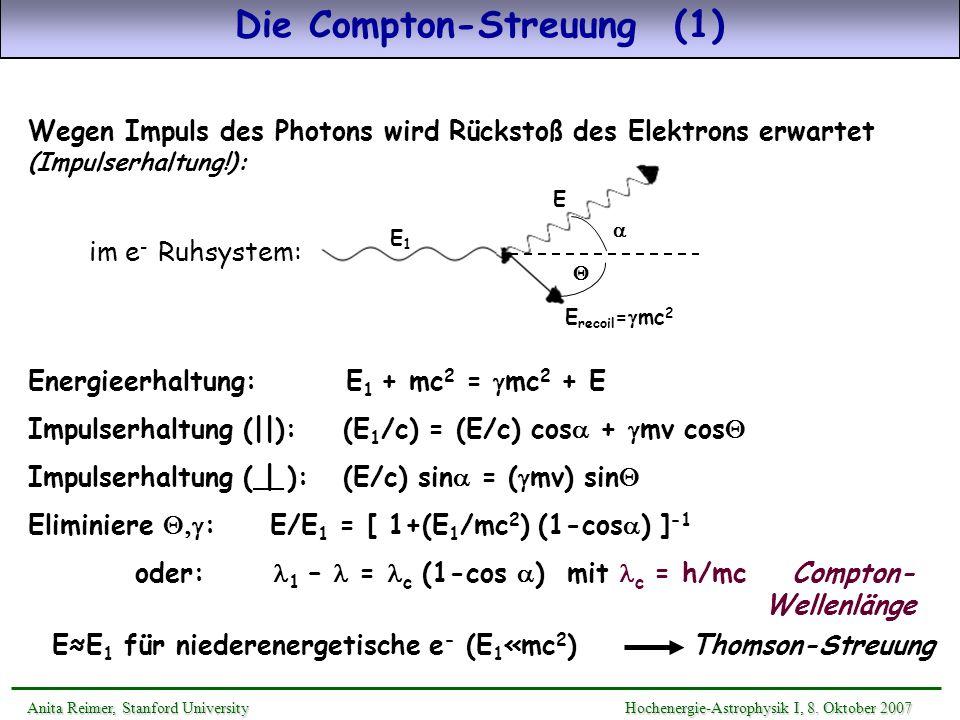 Die Compton-Streuung (1)
