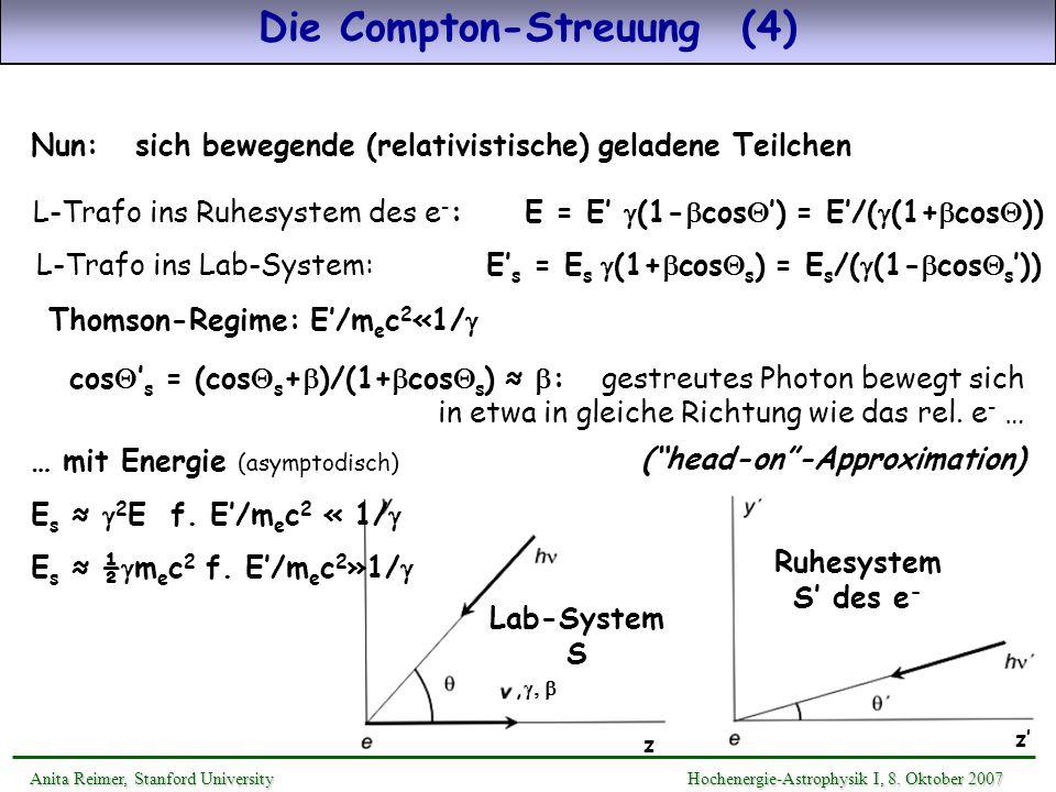 Die Compton-Streuung (4)