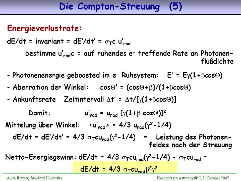 Die Compton-Streuung (5)