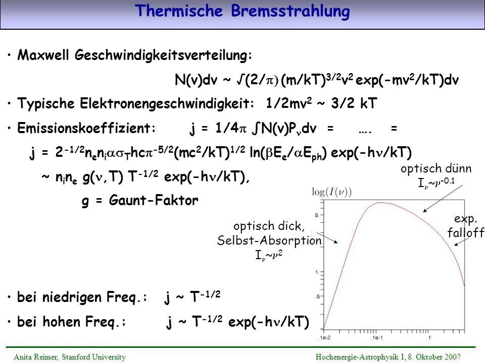 Thermische Bremsstrahlung