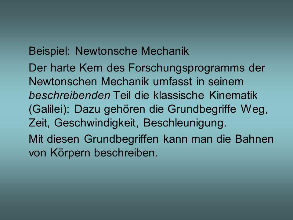 Beispiel: Newtonsche Mechanik