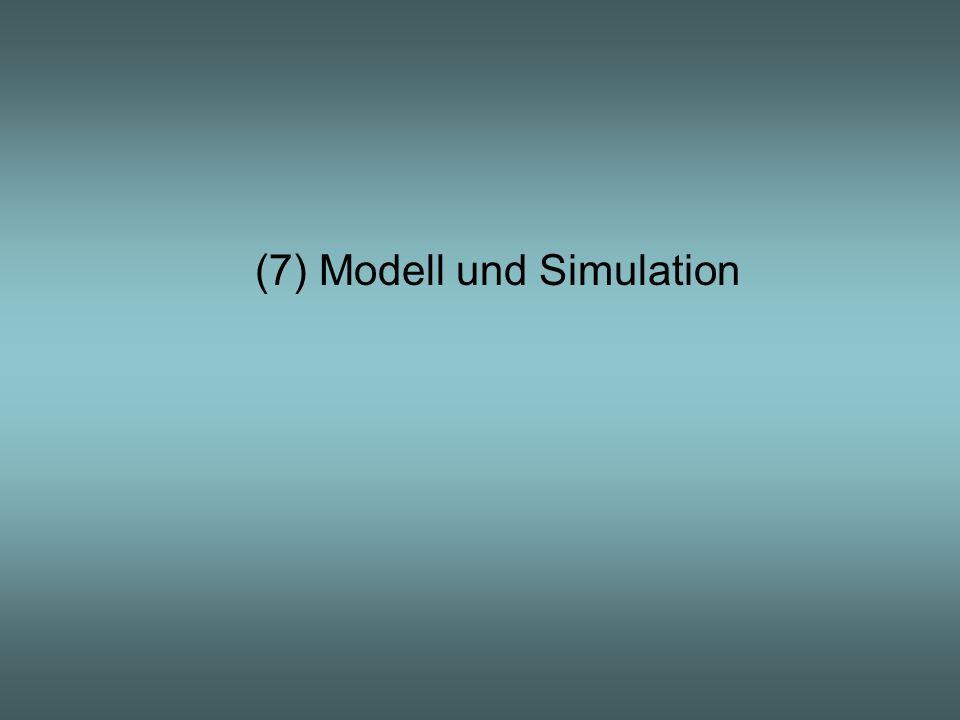 (7) Modell und Simulation