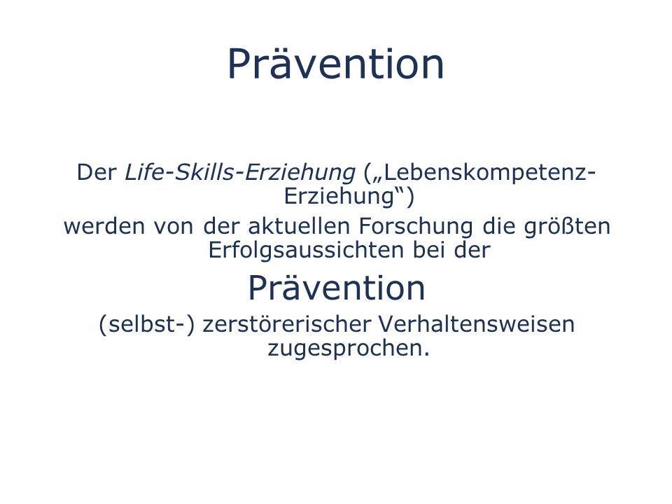 Prävention Prävention