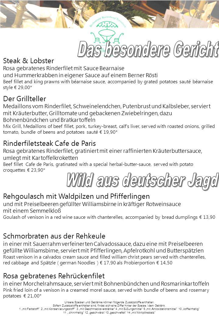 Wild aus deutscher Jagd