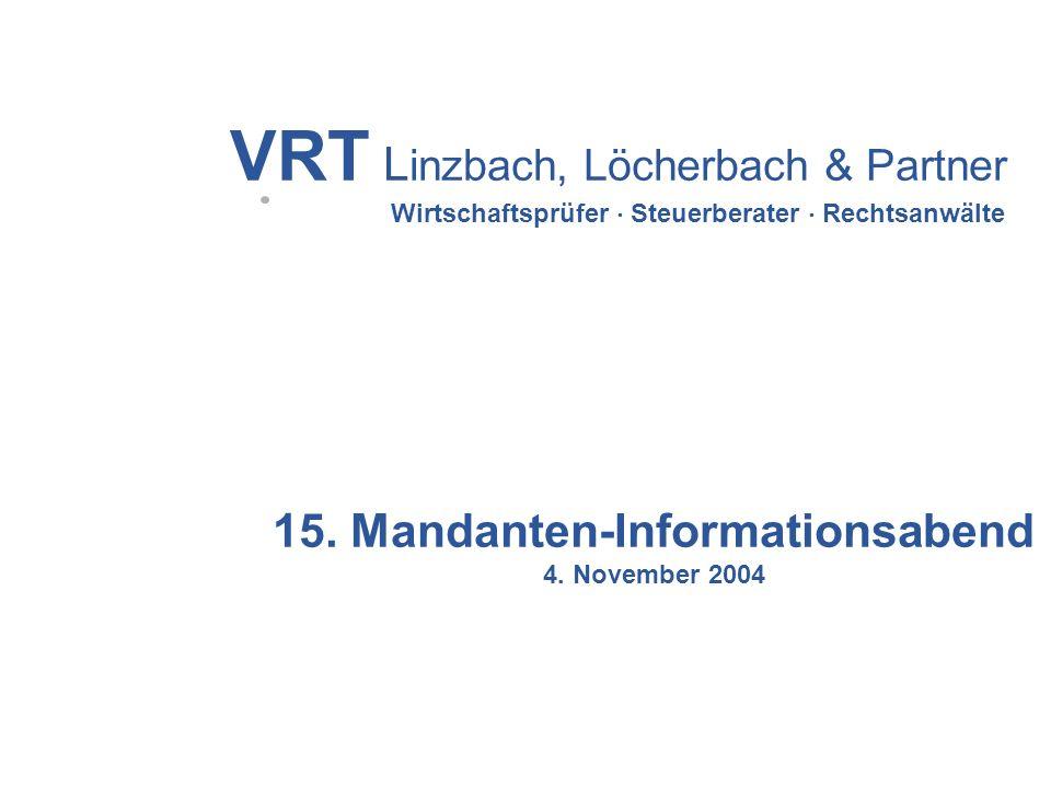 15. Mandanten-Informationsabend