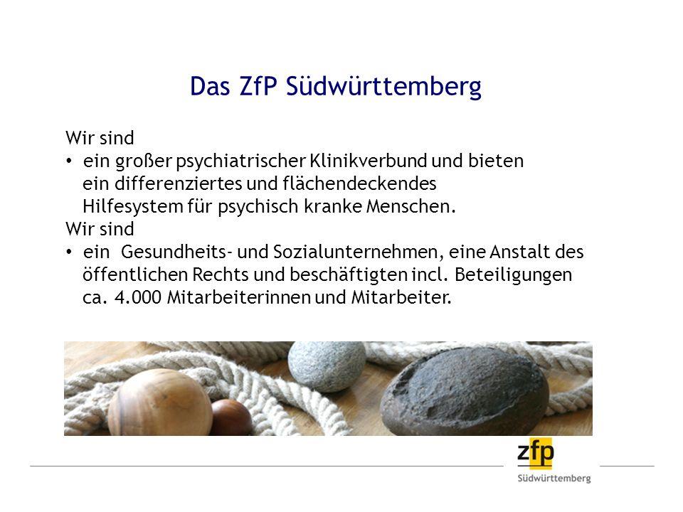 Das ZfP Südwürttemberg