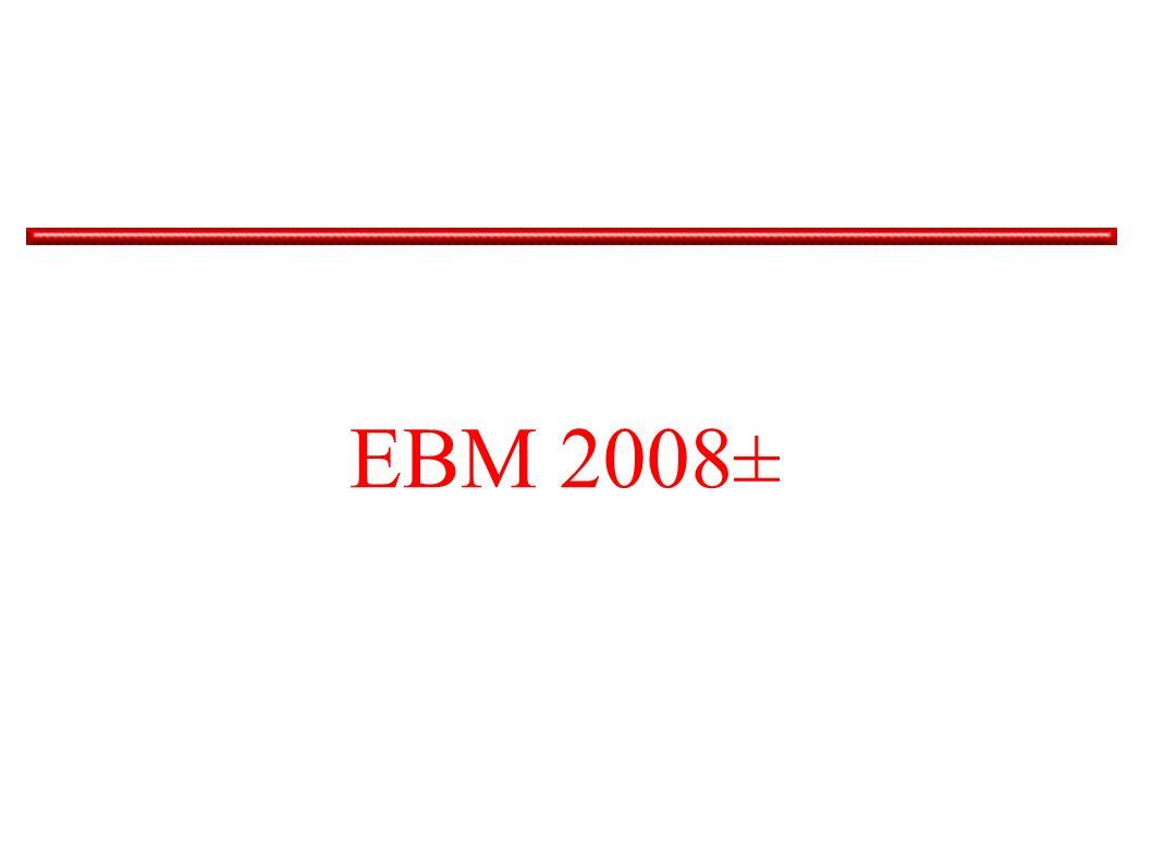 EBM 2008± Viel hat sich nicht geändert – zumindest nicht für die Augenärzte.