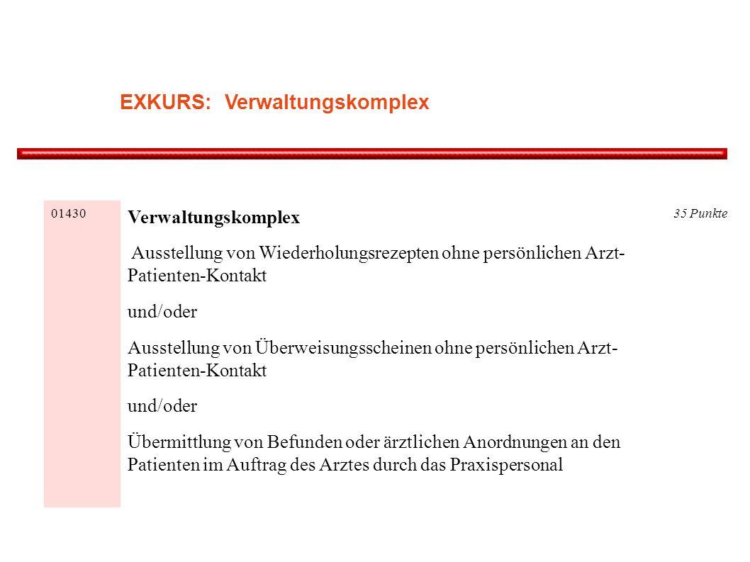 EXKURS: Verwaltungskomplex
