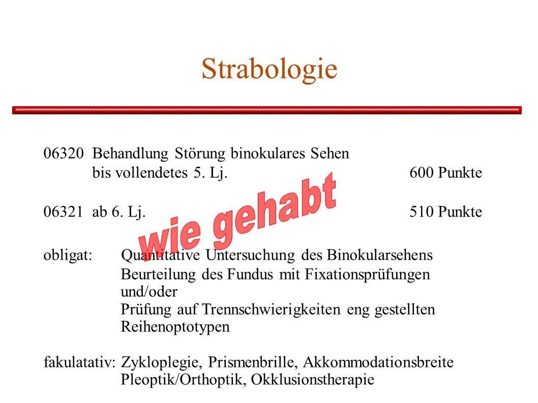 wie gehabt Strabologie 06320 Behandlung Störung binokulares Sehen