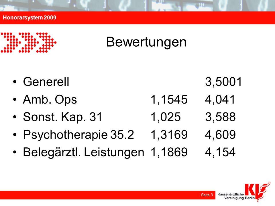 Bewertungen Generell 3,5001 Amb. Ops 1,1545 4,041