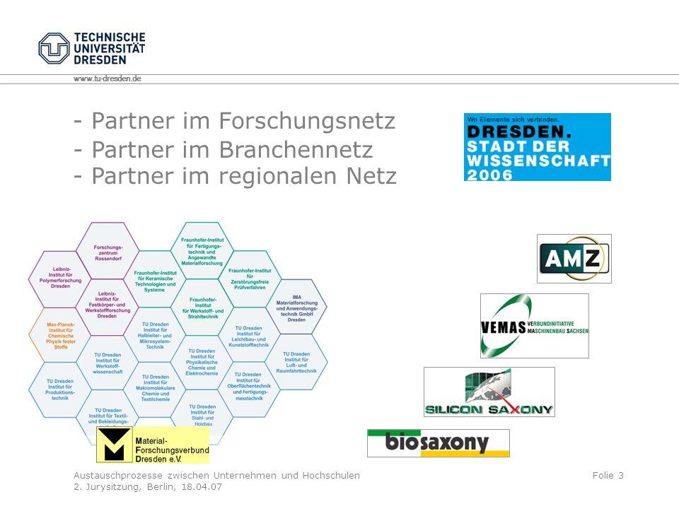 - Partner im Forschungsnetz