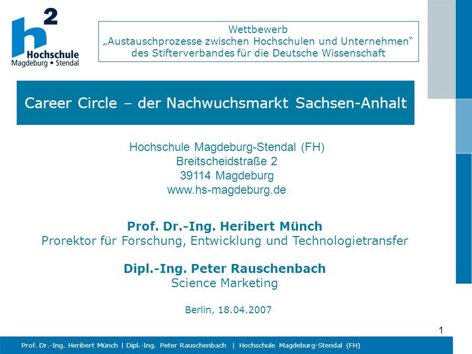 Career Circle – der Nachwuchsmarkt Sachsen-Anhalt