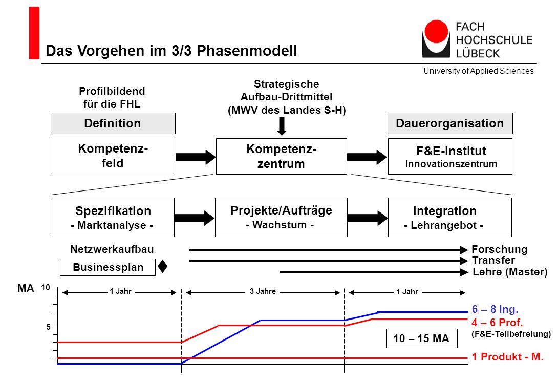  Das Vorgehen im 3/3 Phasenmodell Definition Dauerorganisation