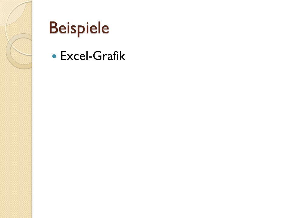 Beispiele Excel-Grafik