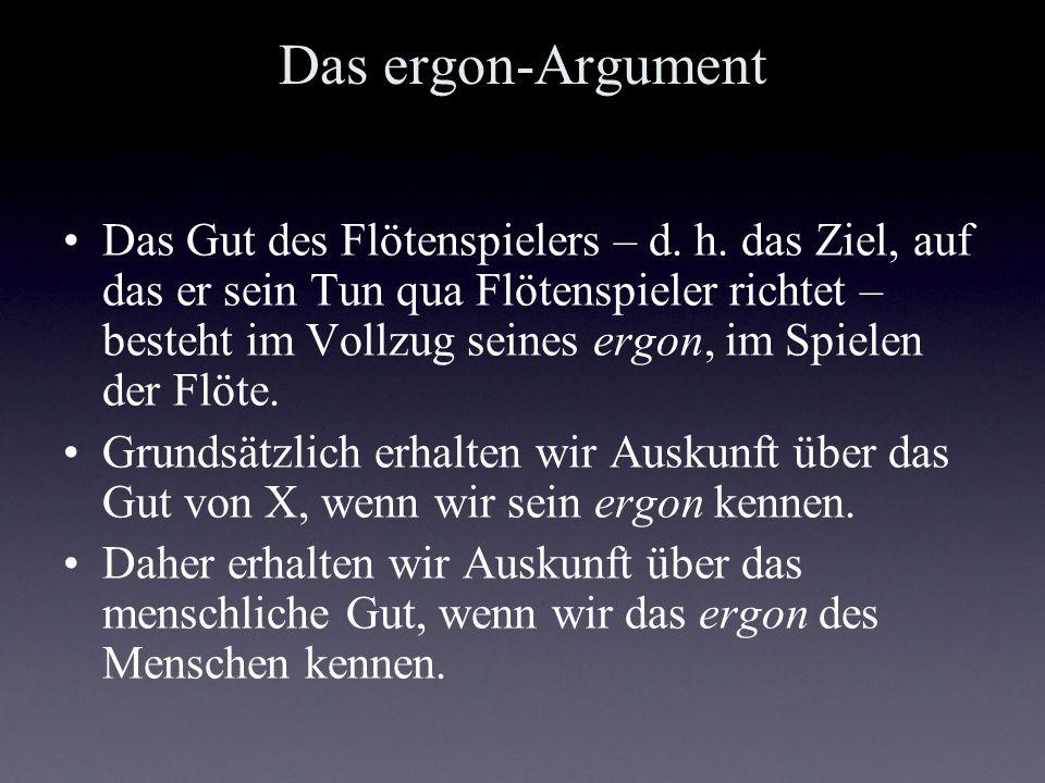 Das ergon-Argument