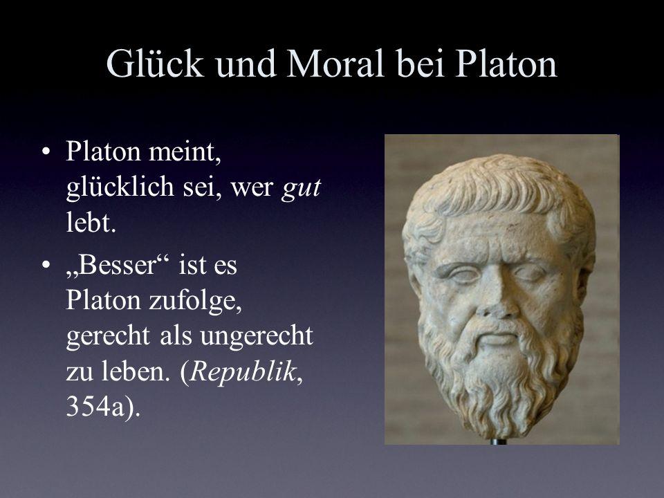 Glück und Moral bei Platon
