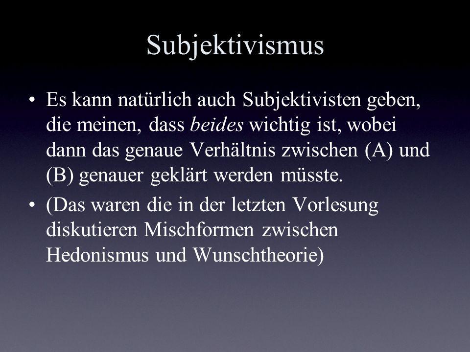 Subjektivismus