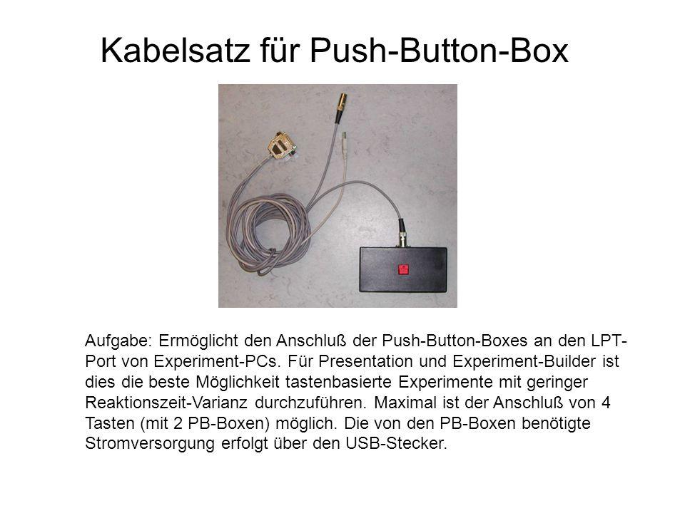 Kabelsatz für Push-Button-Box