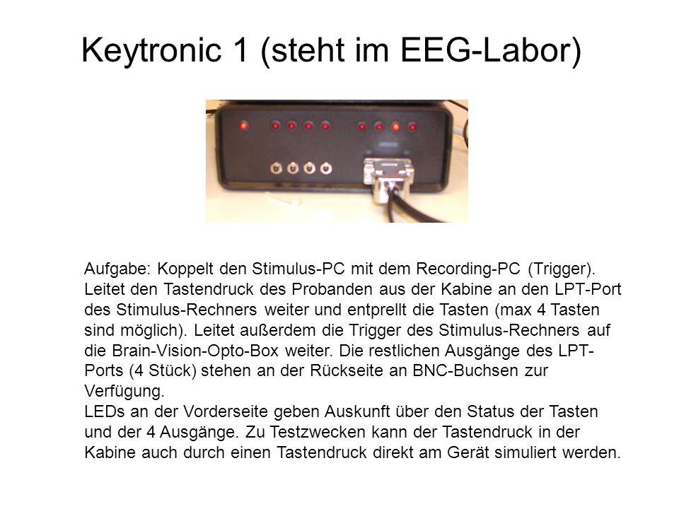 Keytronic 1 (steht im EEG-Labor)