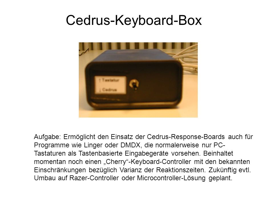 Cedrus-Keyboard-Box