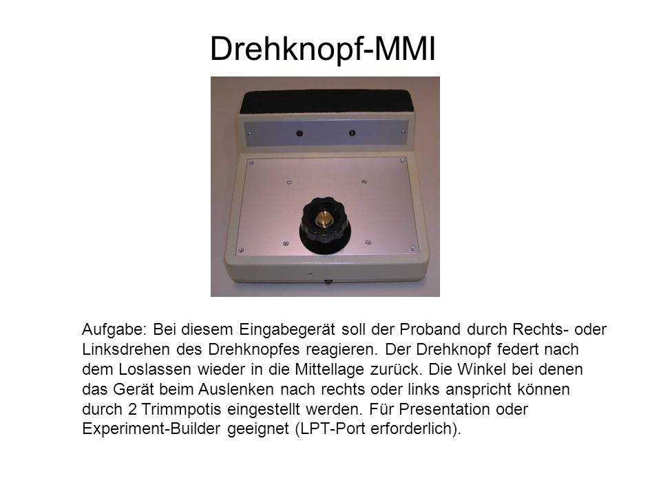 Drehknopf-MMI