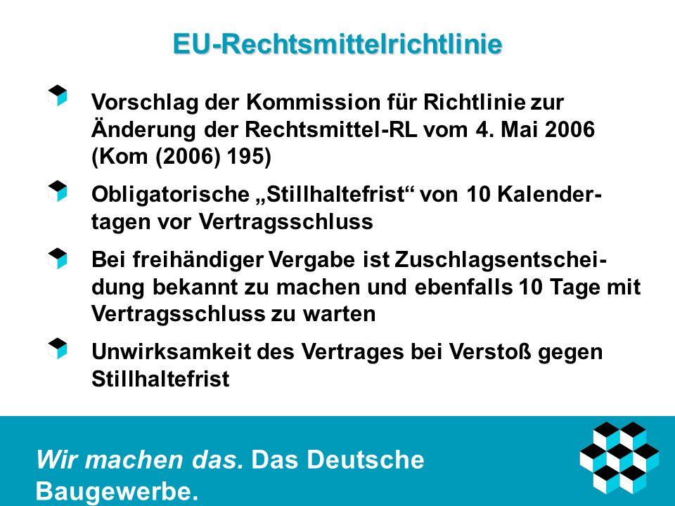 EU-Rechtsmittelrichtlinie