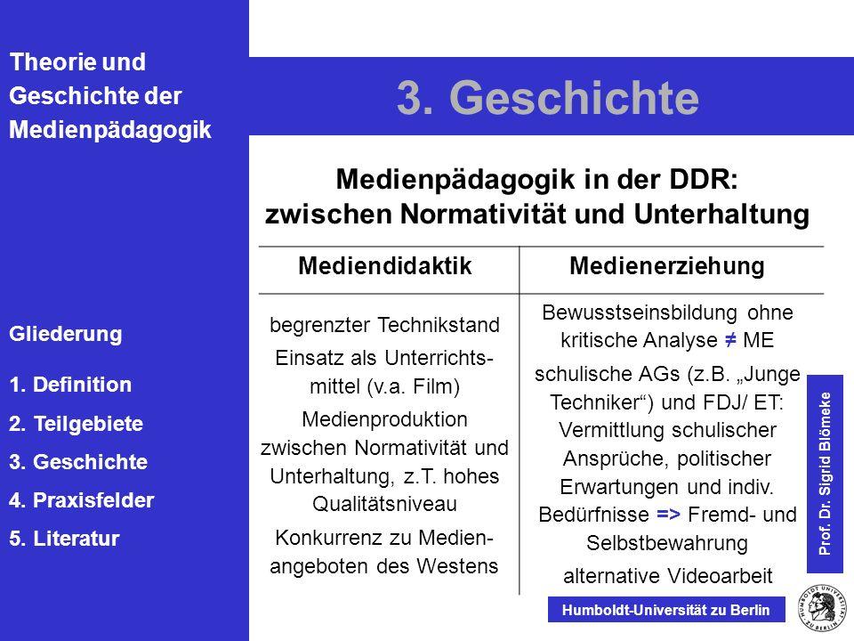 Medienpädagogik in der DDR: zwischen Normativität und Unterhaltung
