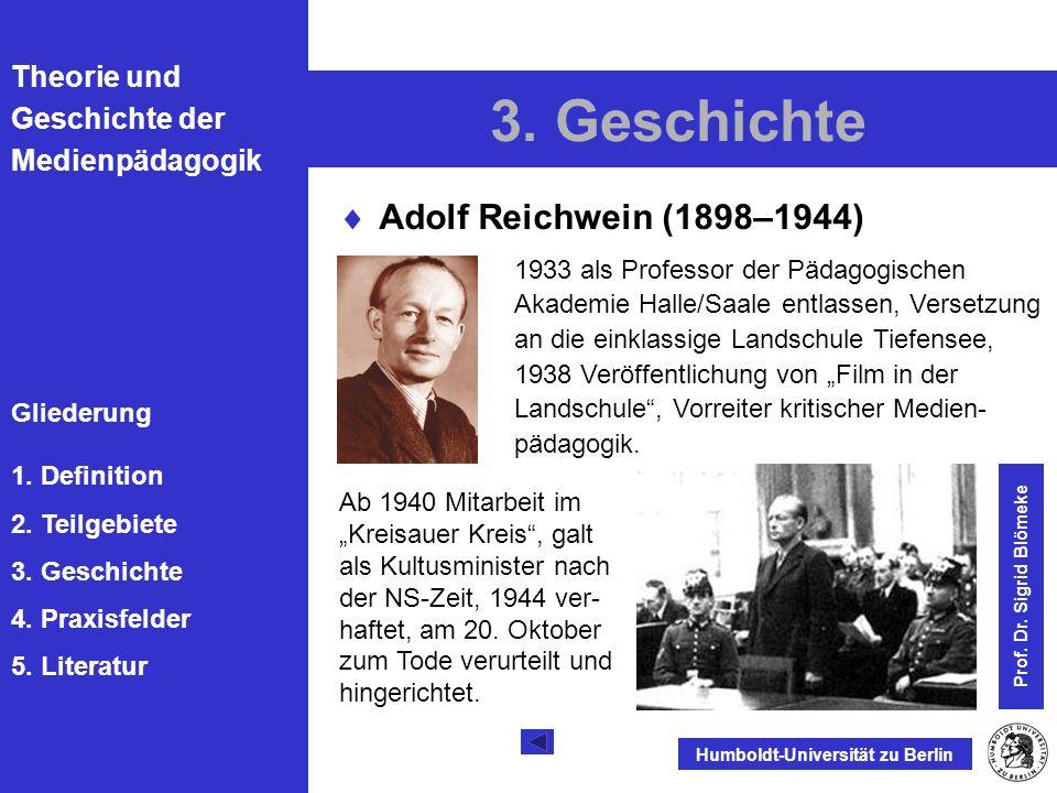 3. Geschichte Adolf Reichwein (1898–1944)