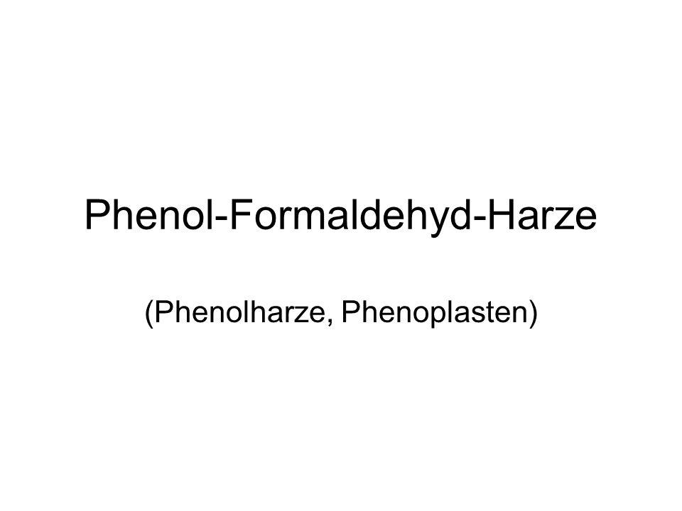 Phenol-Formaldehyd-Harze