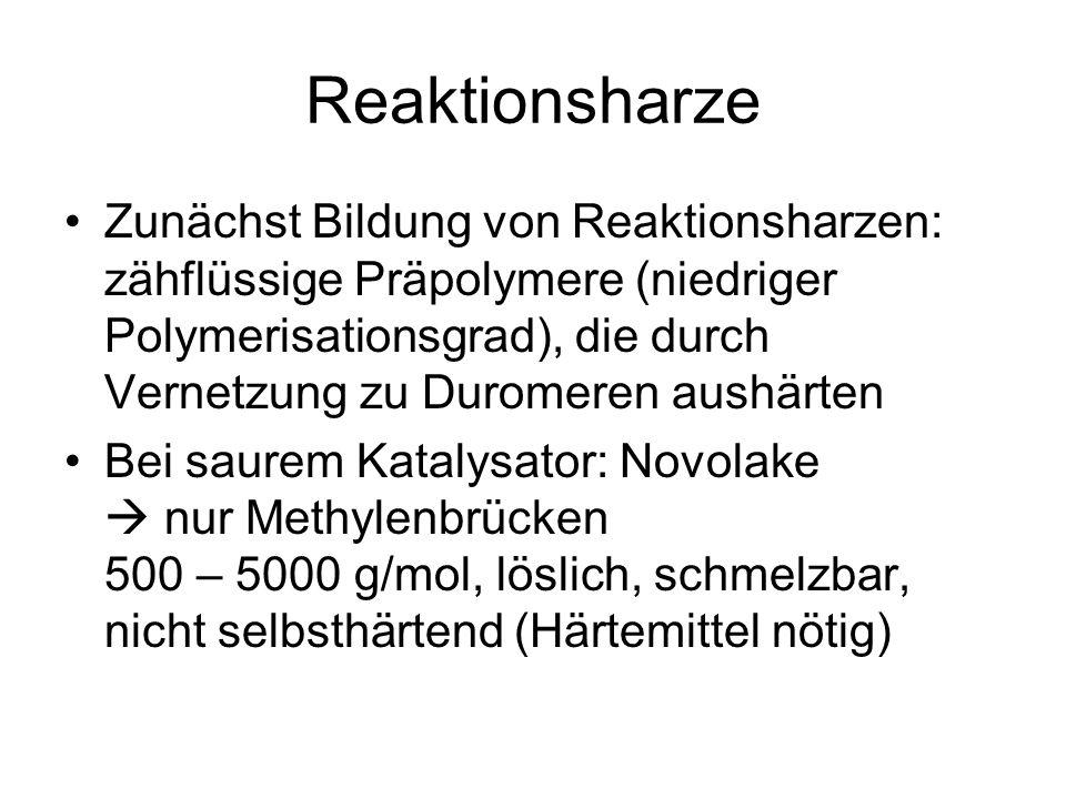 Reaktionsharze