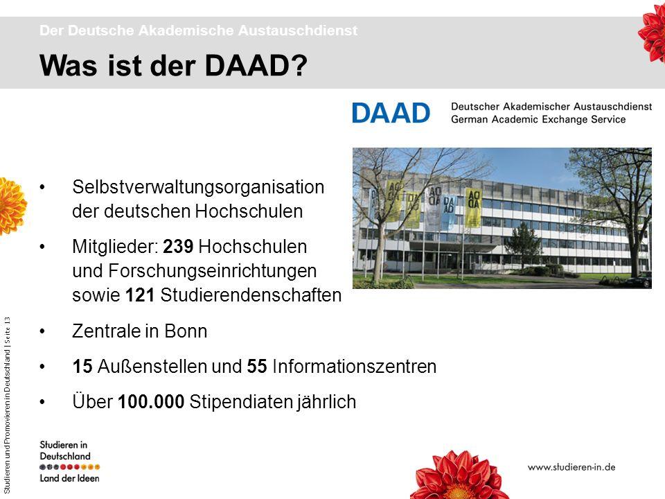 Der Deutsche Akademische Austauschdienst
