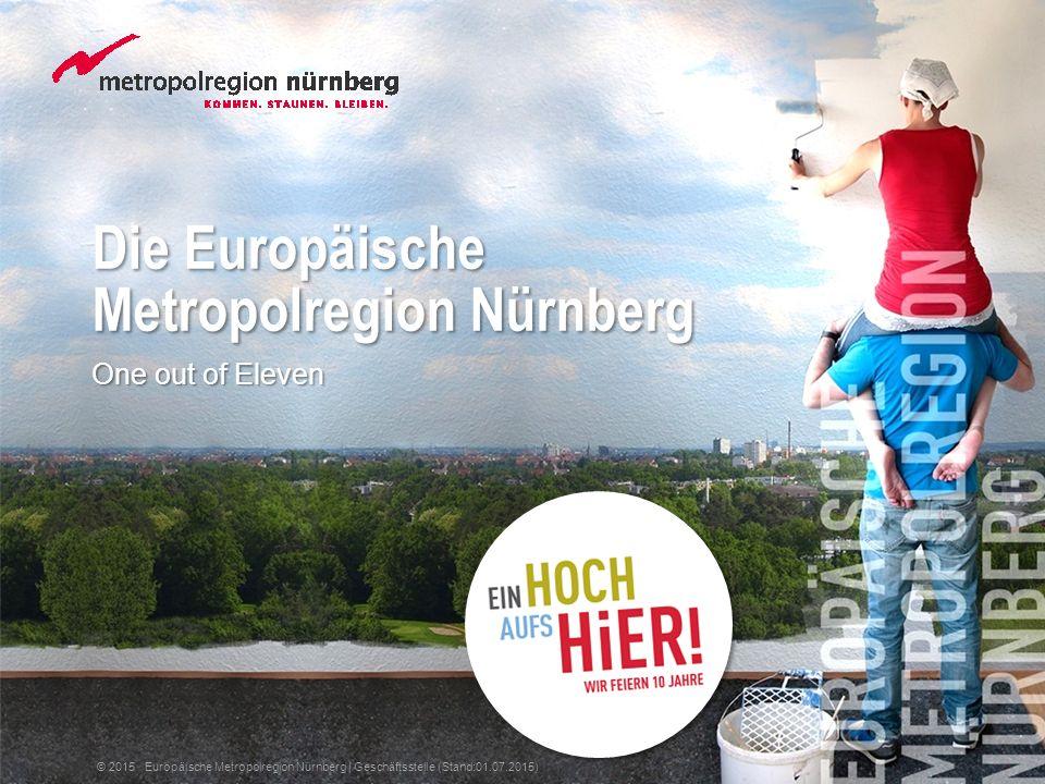 Die Europäische Metropolregion Nürnberg