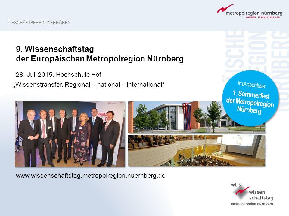 1. Sommerfest der Metropolregion Nürnberg