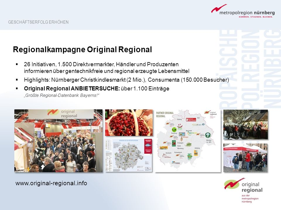 Regionalkampagne Original Regional