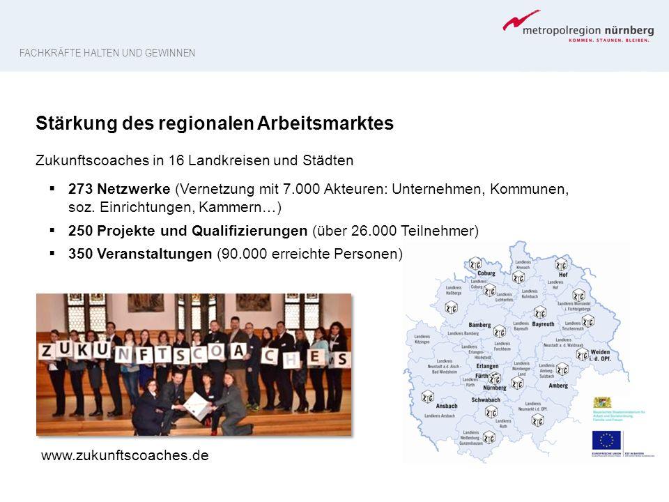 Stärkung des regionalen Arbeitsmarktes