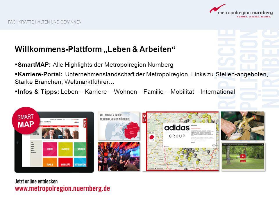 """Willkommens-Plattform """"Leben & Arbeiten"""