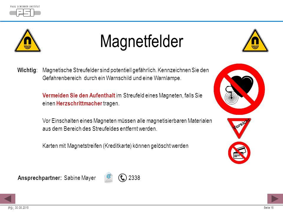 Magnetfelder