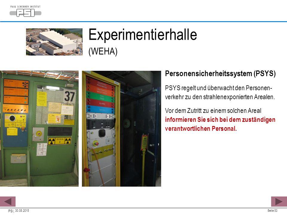 Experimentierhalle (WEHA)