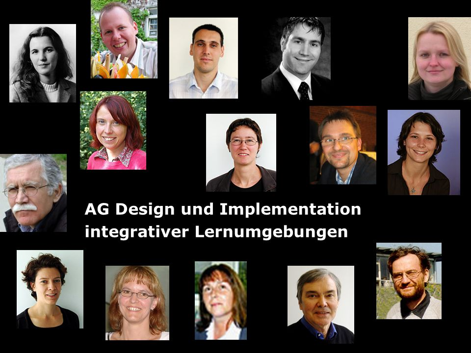 AG Design und Implementation integrativer Lernumgebungen