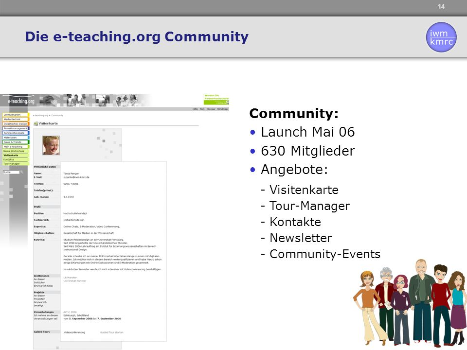 Die e-teaching.org Community