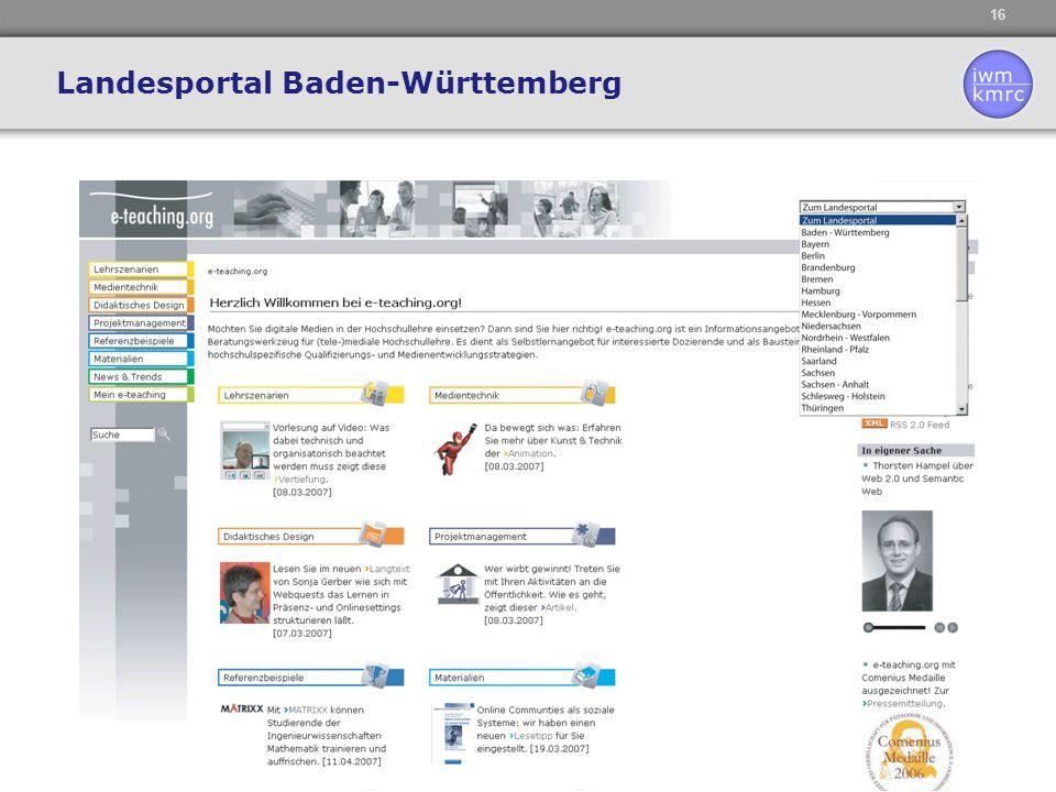 Landesportal Baden-Württemberg
