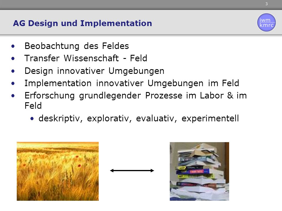 AG Design und Implementation