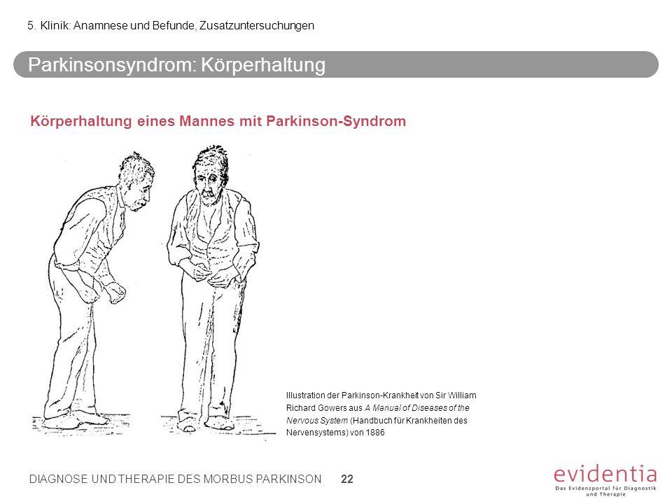 Parkinsonsyndrom: Körperhaltung