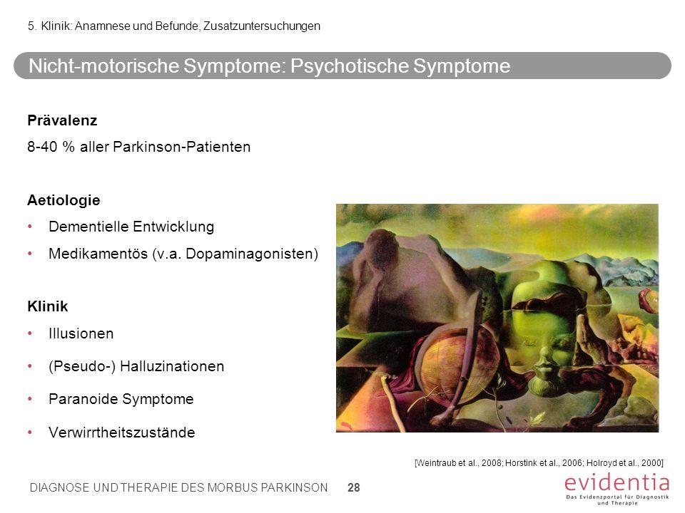 Nicht-motorische Symptome: Psychotische Symptome