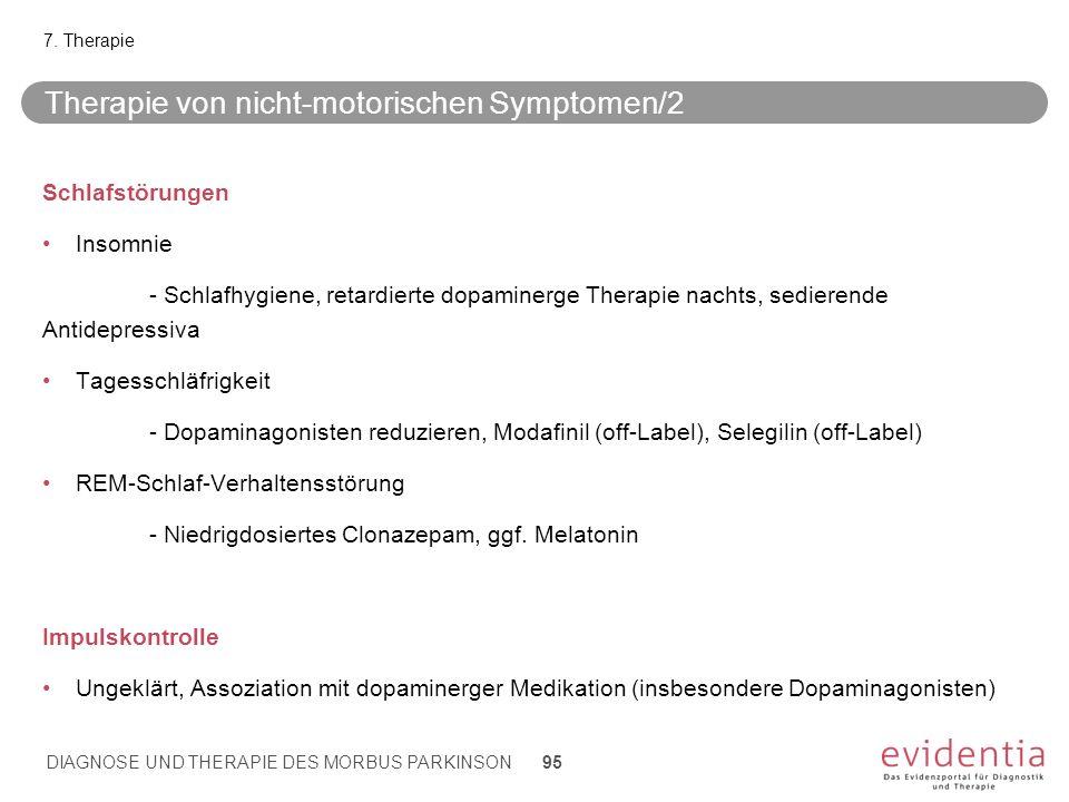 Therapie von nicht-motorischen Symptomen/2