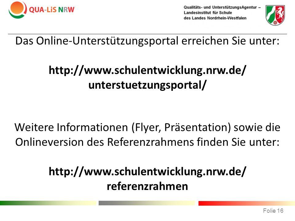 Das Online-Unterstützungsportal erreichen Sie unter: http://www