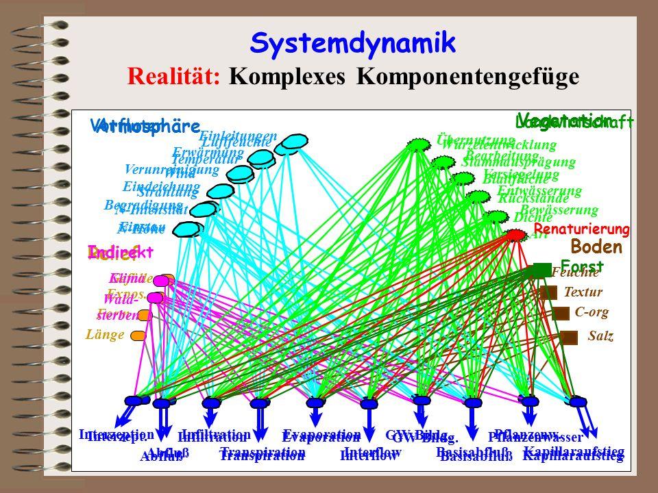 Realität: Komplexes Komponentengefüge