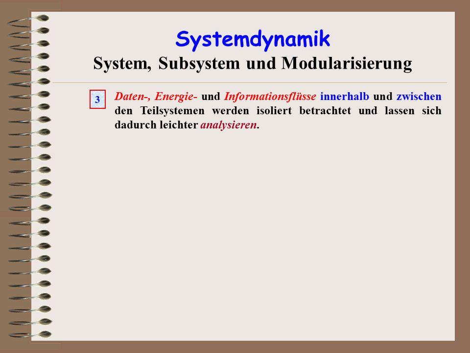 System, Subsystem und Modularisierung