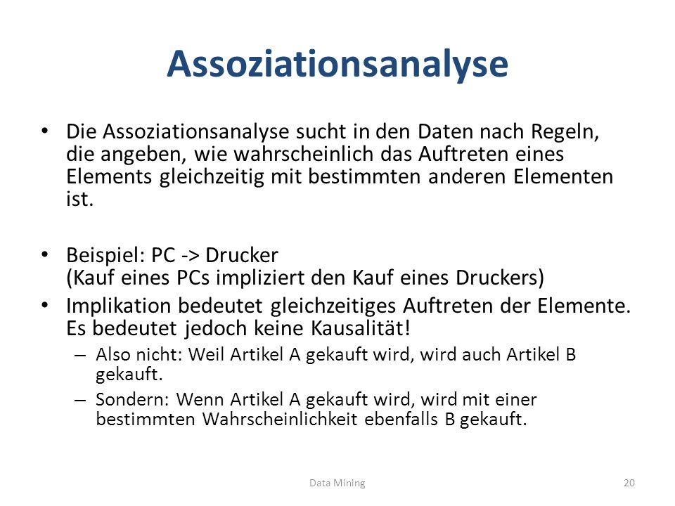 Assoziationsanalyse