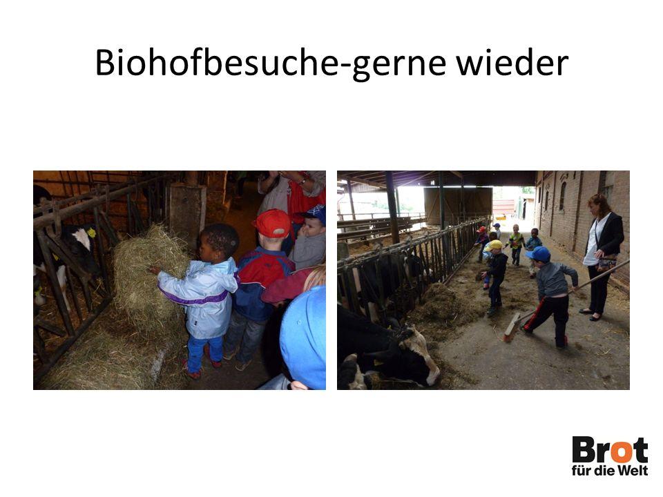 Biohofbesuche-gerne wieder
